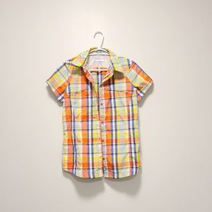 COLUMBIA Sun Protect Omni-shade Plaid Shirt Small